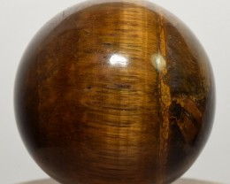 """2"""" Natural Golden Tiger Eye Crystal Sphere Ball - Africa (STYTB-NA70)"""