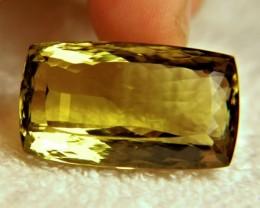 1$NR - 75.4 Carat VVS African Lemon Quartz - Superb