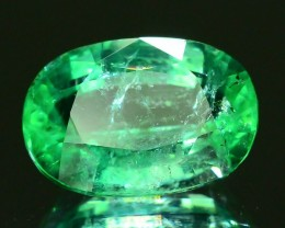 Certified~1.12 CT Untreated  Punjshir Emerald~ $8000.00