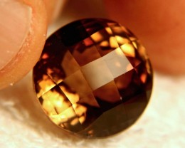 23.7 Carat VVS Brazilian Golden Brown Topaz