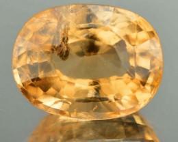 7.89 Cts Natural Imperial Orange Hessonite Garnet Oval Cut Srilanka Gem