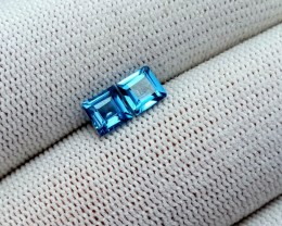 1.50CT LONDON BLUE TOPAZ PAIR GEMSTONES
