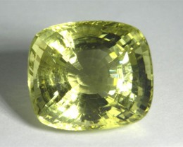 CGJ Yellow Orthoclase 18.17 ct Sri Lanka GPC Lab