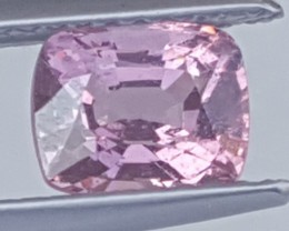 1.42cts, Flamingo Pink Spinel from Mogok,  100% Untreated,  VVS1 Eye Clean,