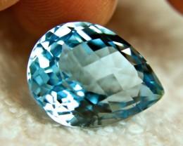 22.5 Carat VVS Blue Brazil Topaz - Beautiful