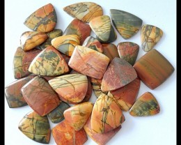 Full Kilogram Multi Color Picasso Jasper Freeform Cabochons Sale - NR