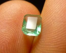 0.66cts Zambian Emerald , 100% Natural Gemstone
