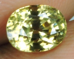 2.20 CtS AWESOME SPARKLE NATURAL NR..BEST YELLOW ZIRCON