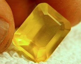13.32 Carat Vibrant Yellow Mexican Fire Opal - Lovely