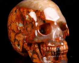 Brecciated Jasper Skull - Cool