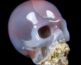 1.8 Inch Agate Skull - Cool
