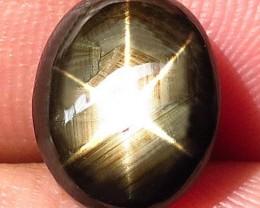 6.06 Carat Thailand Black Star Sapphire