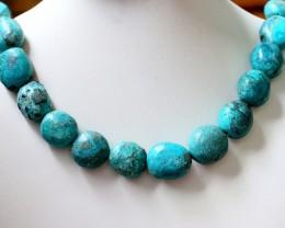 540 Cts  ONE strand Turquoise 40 cm length GOGO 1237