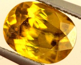 1.5 CTS YELLOW TOURMALINE FACETED STONE  TBG-2487