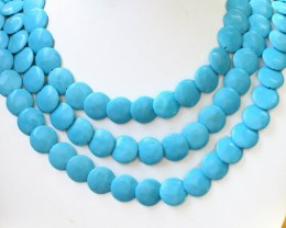 250 cts Three howlite strand beads GOGO 1274