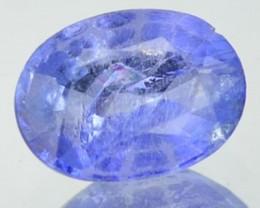 1.05 Cts Natural Blue Tanzanite Oval Cut Tanzanan Gem