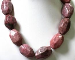 2150 Cts Rhodonite strand beads  GOGO 1298
