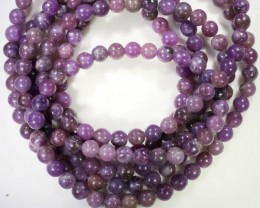 320 Cts Russian  Lepidote Three strand beads  GOGO 1300