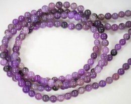 100 Cts Russian  Lepidote Two strand beads  GOGO 1301