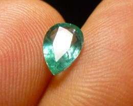 0.77cts Zambian Emerald , 100% Natural Gemstone