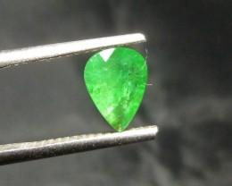 0.92cts Zambian Emerald , 100% Natural Gemstone