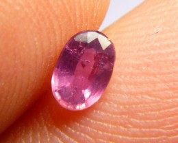 0.51cts Natural Burmese Ruby , Untreated Gemstone