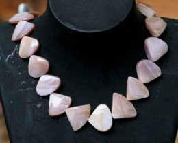 250 Cts Rare Aurora  shell strand beads  GOGO 1306