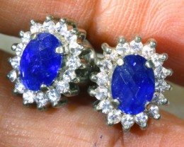 23.35 CTS GORGEOUS SAPPHIRE EARRING  SG-2406
