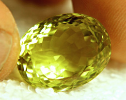 24.2 Carat VVS Yellow Lemon Quartz - Lovely