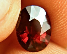 3.42 Carat VS Flashy African Rhodolite - Beautiful