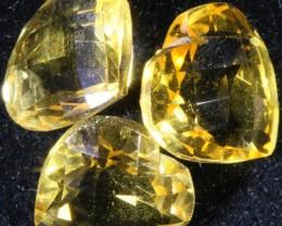 11.90 Cts Oberstein cut Golden Citrine Gemstones GOGO 1366