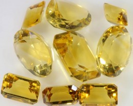 13.25 Cts Oberstein cut Golden Citrine Gemstones GOGO 1370