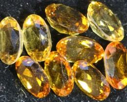 6.25 Cts Oberstein cut Golden Citrine Gemstones GOGO 1375