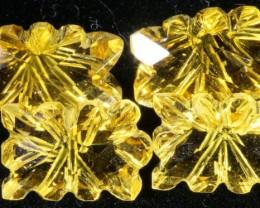 10.88 Cts Oberstein cut Golden Citrine Gemstones GOGO 1380