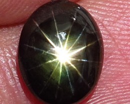 4.18 Carat Thailand Black Star Sapphire - Gorgeous