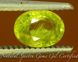 GiL Certified 1.19 ct Tanzanian Sphene S.2