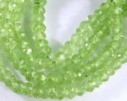 23.5 CTS PERIDOT BEADS FACETED NP-2172