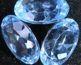 21.95 Cts  Blue  Brazilain Blue  Topaz Gemstone  GOGO 1393