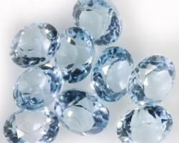 6.30 Cts  Blue  Brazilain Blue  Topaz Gemstone  GOGO 1400