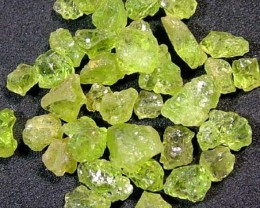 125 CTS PERIDOT ROUGH PARCEL RG-2002