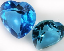 9.20 Cts  Blue  Brazilain Blue  Topaz Gemstone  GOGO 1402