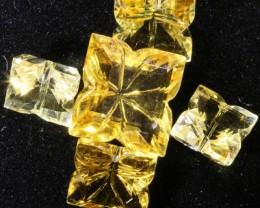 7.85 Cts Oberstein cut Golden Citrine Gemstones GOGO 1413