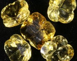 9.95 Cts Oberstein cut Golden Citrine Gemstones GOGO 1414