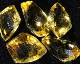 14.30 Cts Oberstein cut Golden Citrine Gemstones GOGO 1415