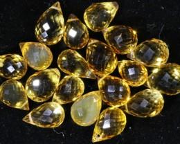26.65 Cts Oberstein cut Golden Citrine Gemstones GOGO 1418