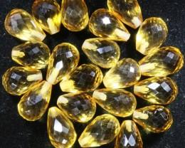 27.40 Cts Oberstein cut Golden Citrine Gemstones GOGO 1420