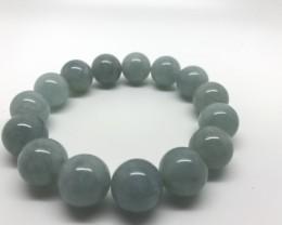 252.5 Carats Natural Aquamarine Braslets Top Color