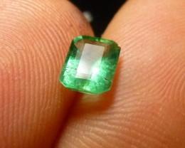 0.77cts Zambian  Emerald , 100% Natural Gemstone