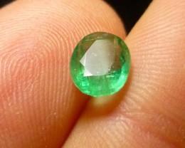 1.22cts Zambian Emerald , 100% Natural Gemstone