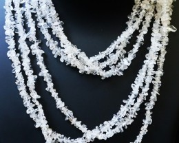 520.00 Cts three Strand Crystal bead strands  GOGO 1472